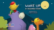 Nasheed - Wake Up By Muhammad Khodr featuring Zaky (Islamic cartoon)