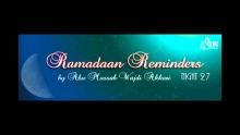 Ramadaan Night 27-1435 | Bringing the Children to the Masjid | Abu Mussab Wajdi Akkari