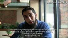 Spiritual Void Nouman Ali Khan