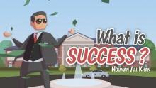 What is Success?   Nouman Ali Khan   illustrated