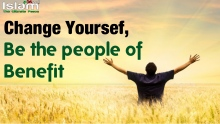 Change Yourself !! Be the people of Benefit ~ Sheikh Zahir Mahmood (Powerful)