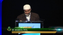 It's an Honor to be Part of this Ummah - Br. Maqbool Patel