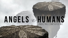 The Angels vs Humans [Amazing Comparison]