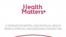 Health Matters+ by Sheikh Muiz Bukhary & Professor Dr. Kemal Deen