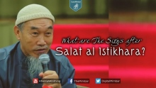 What are The Signs after Salat al Istikhara? - Hussain Yee