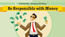 Be responsible with money | Nouman Ali Khan | illustrated