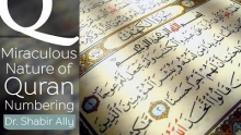 Q&A: Miraculous Nature of the Quran Numbering? | Dr. Shabir Ally