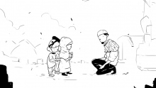 ''Uncle, do you have Quran?'' | illustrated | Ust Ihsanul Faruqi