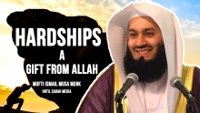 HARDSHIPS - A Gift from Allah || Mufti Menk || FULL LECTURE 2016 May NEW  ᴴᴰ