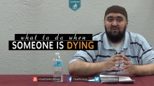 Important Conversations to have when Someone is Dying  - Navaid Aziz