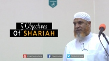 5 Objectives Of SHARIAH - Karim AbuZaid