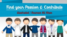 Find your Passion & Contribute   illustrated   Nouman Ali Khan