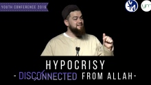 Overcoming Hypocrisy | Ustadh AbdelRahman Murphy | #YC2016