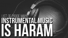 List of Proof Why Instrumental Music is Haram