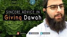 Sincere Advice in Giving Dawah - Abu Jebreel Spadaccini