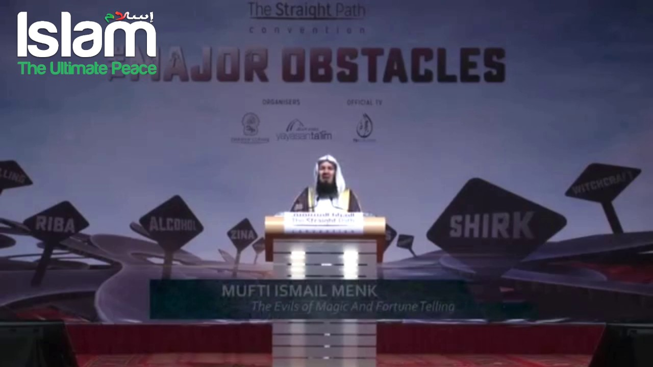 How do they control the Jinn ? Mufti Menk