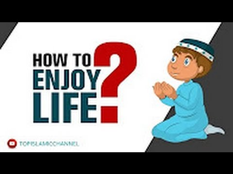 How To Enjoy Life? - Mufti Hussain Kamani | Animation