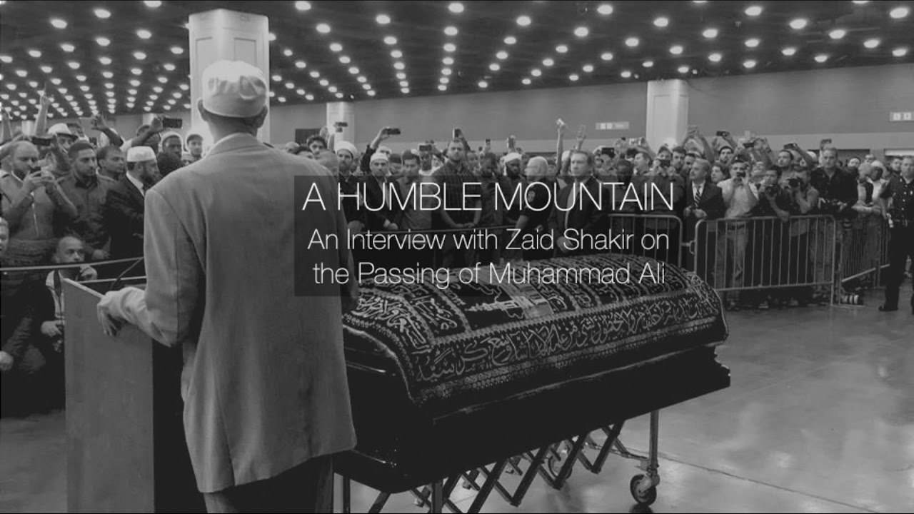 "Listen to ""A Humble Mountain: The Passing of Muhammad Ali"" with Imam Zaid Shakir"