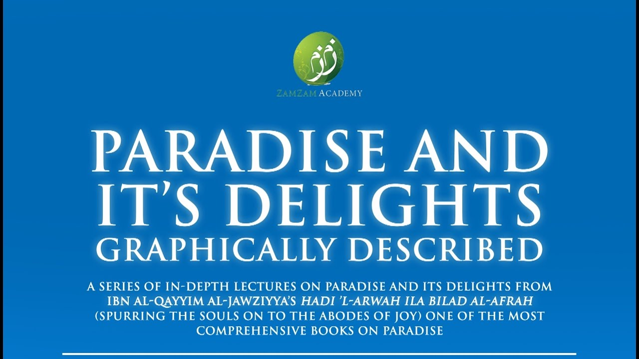Paradise and Its Delights: Part 16 - The Food in Paradise | Mufti Abdur-Rahman ibn Yusuf