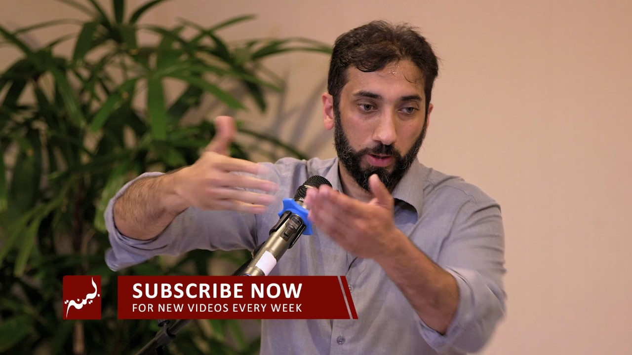 Facing Calamity with Iman - Khutbah by Nouman Ali Khan