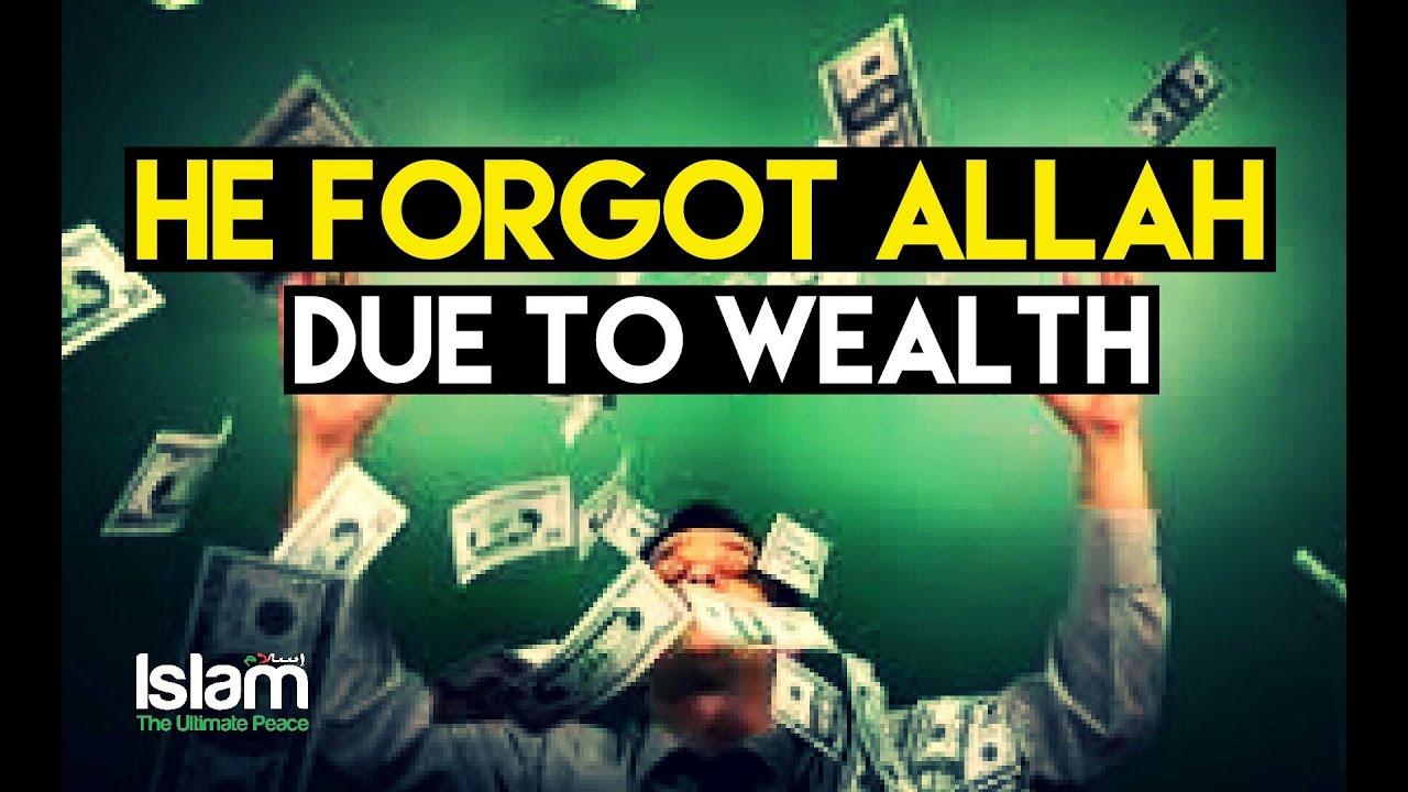 He Forgot Allah after Getting Wealth ● Bilal Assad (Powerful True Story)