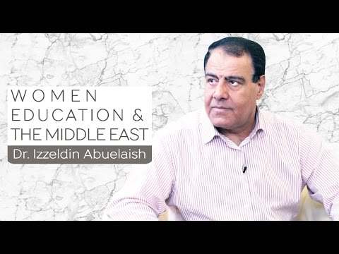 Women, Education, & The Middle East | Dr. Izzeldin Abuelaish