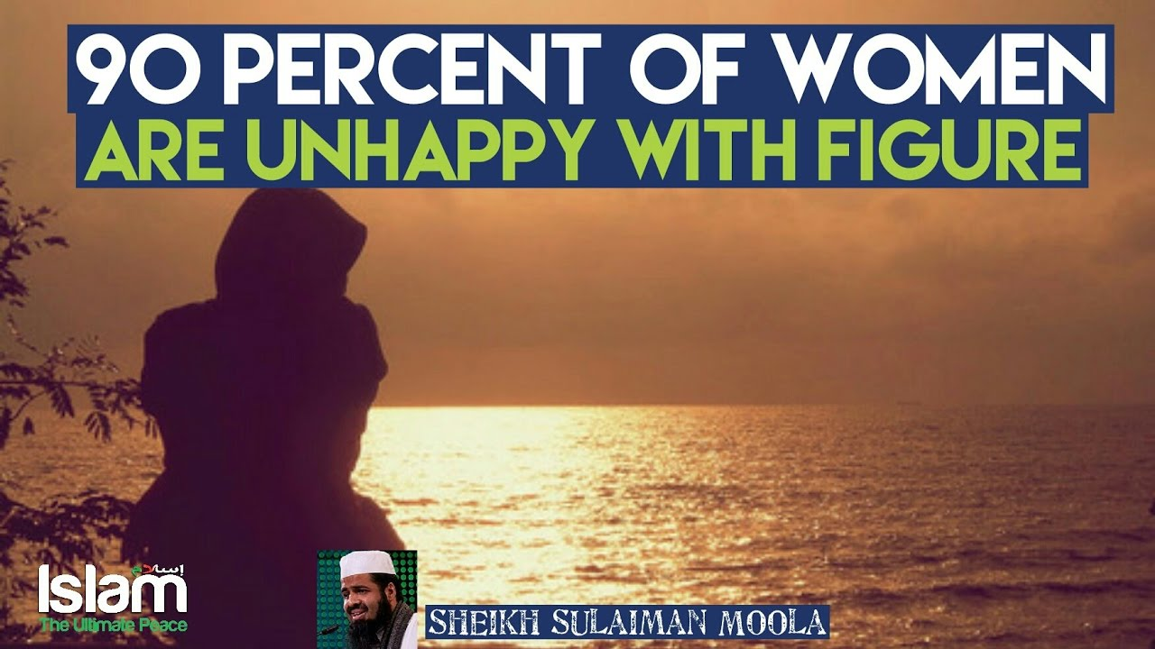 90 Percent of Women are not Happy with their figure !!! Shocking Fact ~ Sulaiman Moola