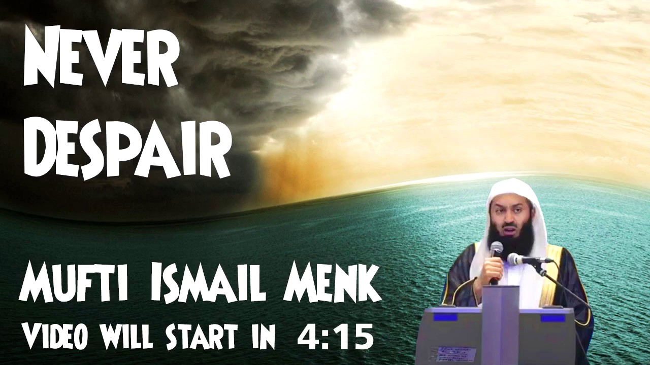 *FULL NEW* ~ NEVER DESPAIR ~ Mufti Menk ~ Light Upon Light 2016!