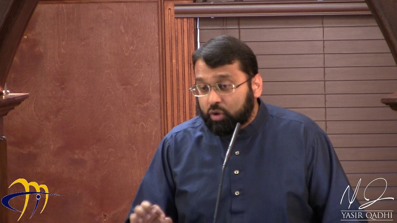 Khutbah: Giving Thanks to Allah ~ Shaykh Dr Yasir Qadhi