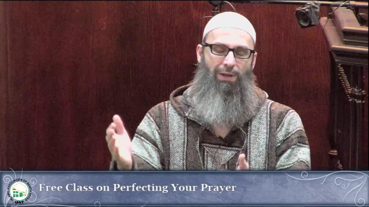 Perfecting Your Prayer   Success in Salah FREE Class @ IANT