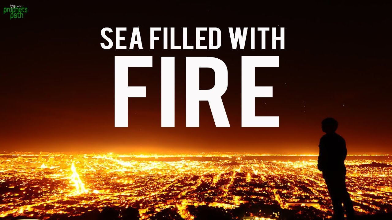 The Sea Filled With Fire! - Eye Opening Quran Recitation
