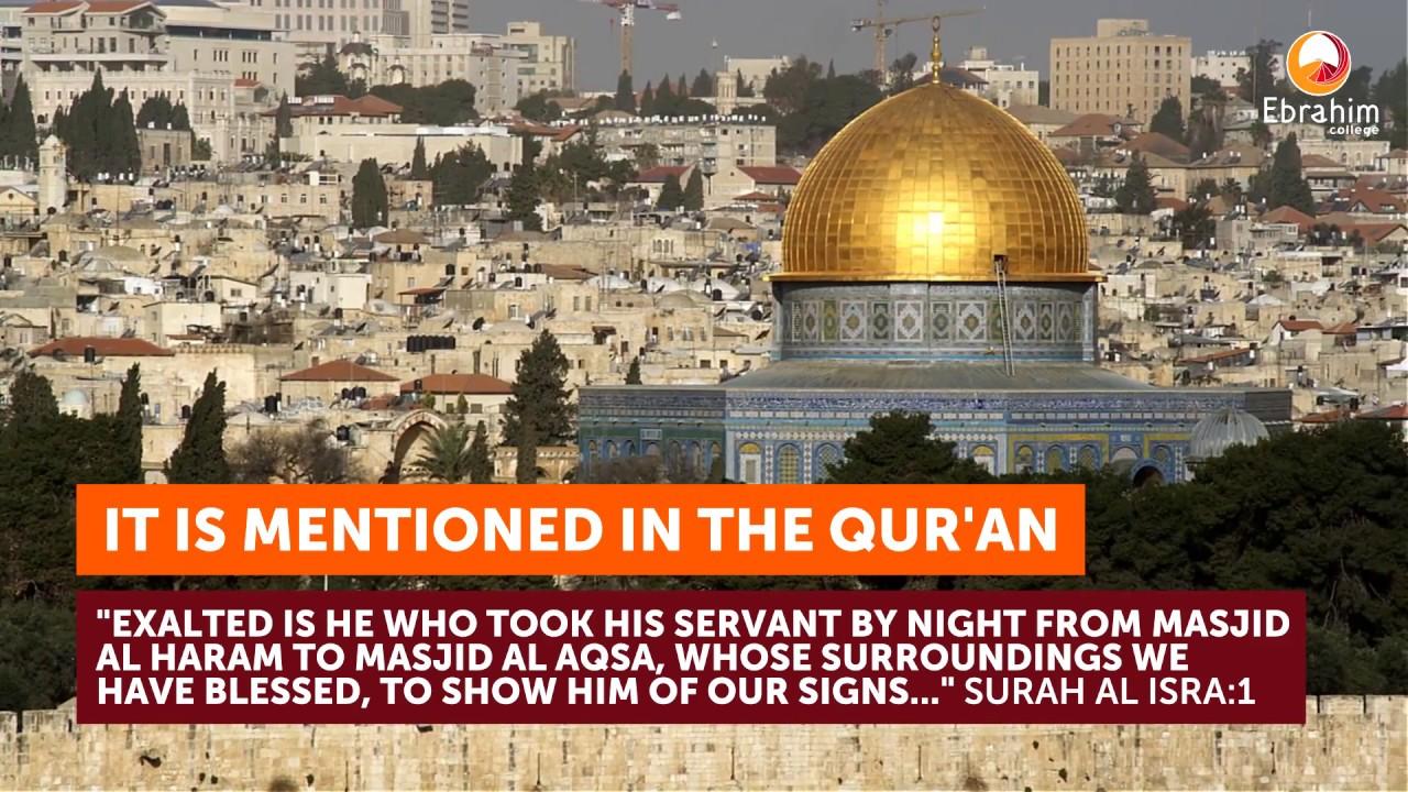 5 Facts About Masjid Al Aqsa