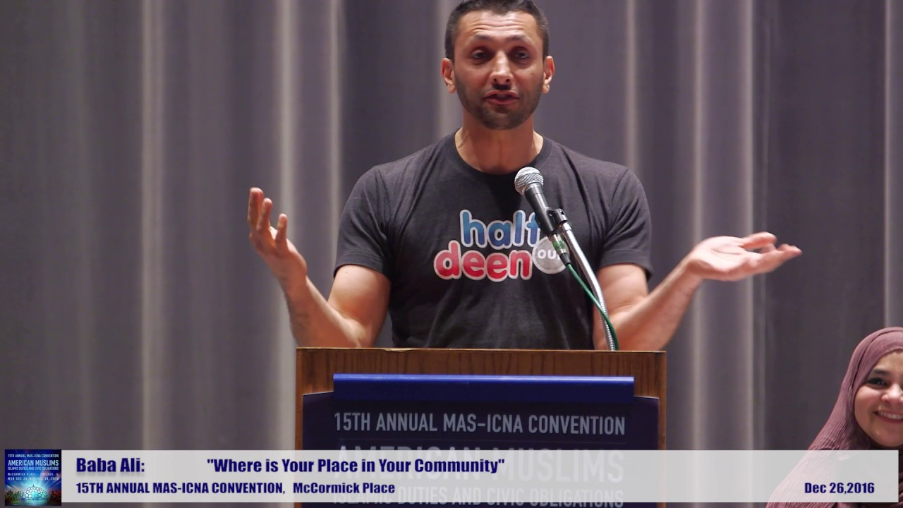 Baba Ali  | Where is Your Place in Your Community  | 15th MAS ICNA Convention