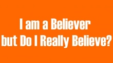 I am a Believer but Do I Really Believe? | Mufti Abdur-Rahman ibn Yusuf