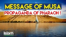 The Message of Musa (Alayhi Wasallam) and The Propaganda of Pharaoh | Nouman Ali Khan