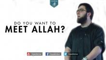 Do you want to meet Allah? - Abu Jebreel Spadaccini