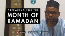 Preparing for the Month of Ramadan - Abu Usamah