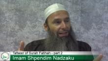 Tafseer of Surah Fatihah part 2