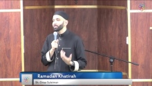 What is your secret between you and Allah ? Omar Suleiman | Ramadan 2017