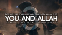Your Personal Time With Allah
