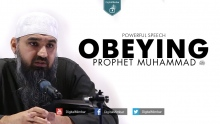 Obeying Prophet Muhammad ﷺ | Powerful Speech - Murtaza Khan