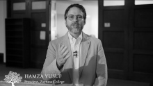 A Special Request from Shaykh Hamza Yusuf