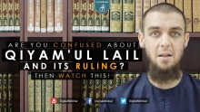 Are you Confused about Qiyam'ul Lail and its ruling? Watch This! - Tim Humble