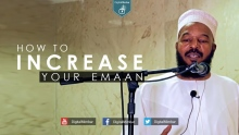 How to Increase your Emaan - Dr Bilal Philips