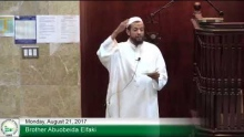 8 21 17 Hadith Lesson   Islam is for all, rich and poor