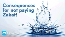 Consequences for not paying Zakat