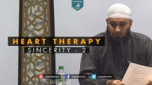 Heart Therapy: Sincerity - 2 - Yousaf Jahangir