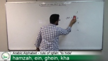 Learning Arabic Pronunciation part 4