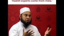 Syrian Scholar: Hadith Experts Come from India