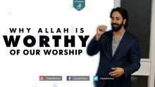 Why Allah is WORTHY of our Worship? - Hamza Tzortzis